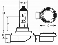 Светодиодные лампы H8